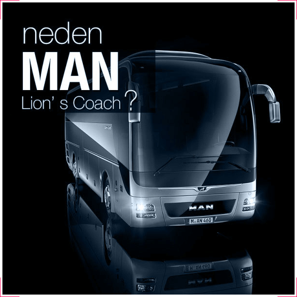 Neden MAN Lion's Coach?